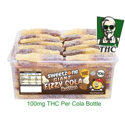 100mg Giant Cola Bottles Pack Of 4