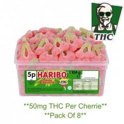 50mg Fizzy Cherries Pack of 8