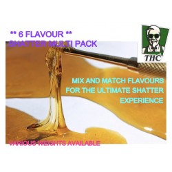 Shatter, 6 Mixed Flavour Multi Pack, Canadian Import, Super High Quality