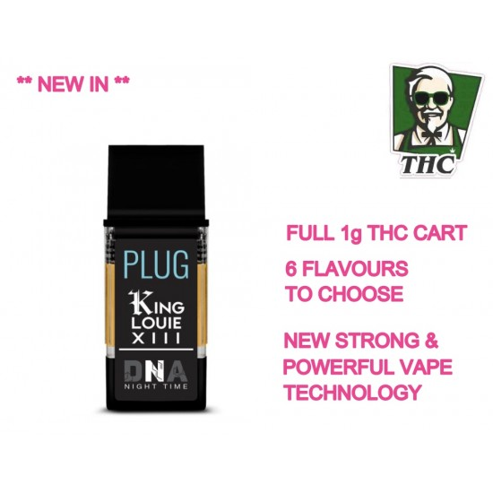 Plug and Play, 1g THC Cart & Play 500mAH Battery - Vape Pod System