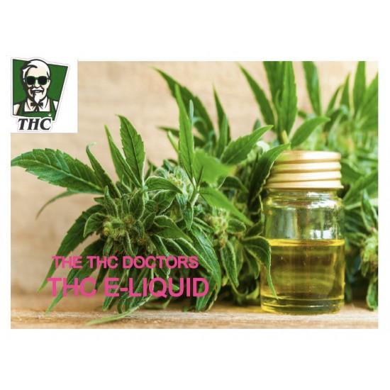 THC e-liquid - 800mcg THC Content