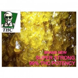 THC A Diamonds, In Gelato Terps Sauce, 99% Potency Super Strong - 0.5g