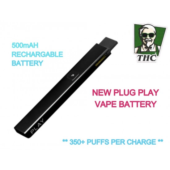 PLUG AND PLAY 500MAH BATTERY - VAPE POD SYSTEM VAPORIZER.