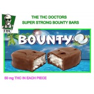 Bounty Bar - 100mg THC Distillate Per Pack.