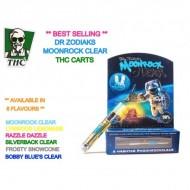 Dr Zodiaks Moonrock Carts - 1g - Original Clear