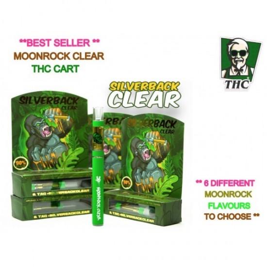 Dr Zodiaks Moonrock Carts - 1g - Silverback OG Clear