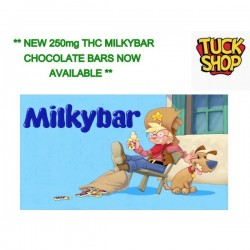 Milkybar White Chocolate Bar - 250mg THC Distillate