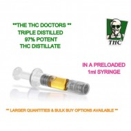 THC Distillate Preloaded Syringe - 1ml - Ready To Use