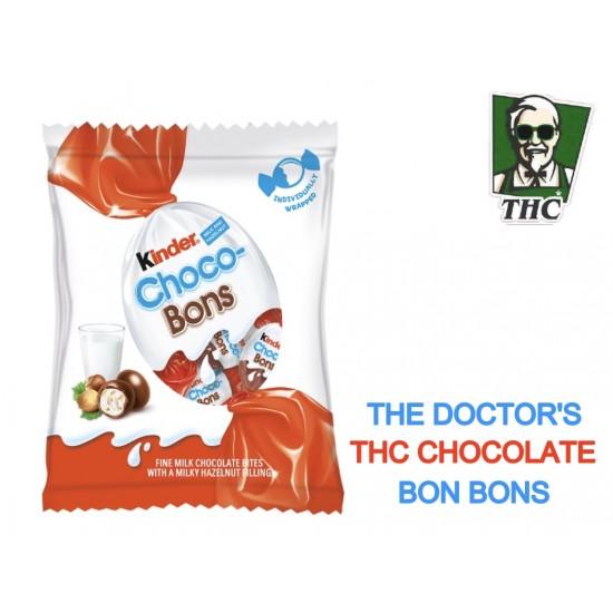 THC Kinder Choclate Bon Bons, 25 mg THC Per Piece