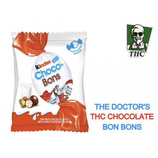 THC Kinder Choclate Bon Bons, 50 mg THC Per Piece