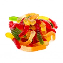 Gummie Snakes- Pack of 4, Infused With 100mg THC Each